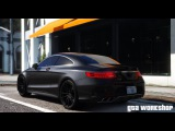 GTA 5 MOD | Mercedes-Benz S63 AMG Coupe - BRABUS 850 | Fast Drive! | PC 60 FPS
