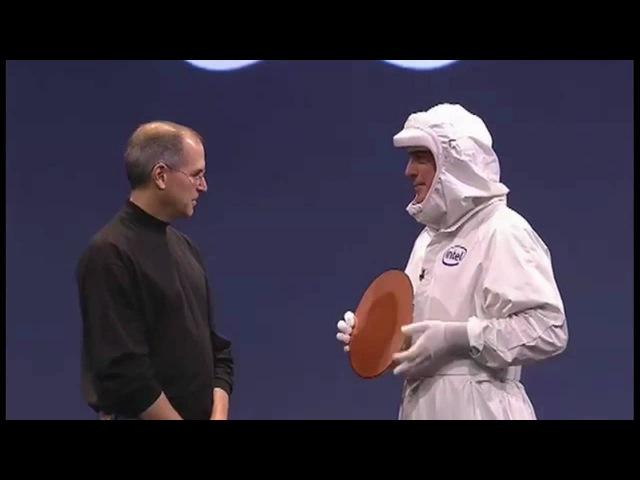 First Intel Mac (10 Jan 2006)