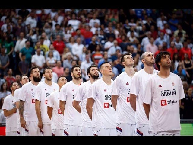 Idemo u Rio | Košarkaška reprezentacija Srbije 2016