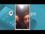 Первая трансляция в Periscope. Ляйсан Утяшева и Павел Воля