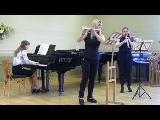 7- И. С. Бах - Концерт d-moll для флейты, гобоя и фортепиано .
