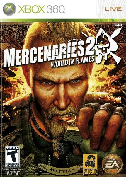 Mercenaries 2: World In Flames скачать торрент