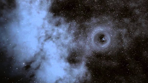 Астрономы: Найдена черная дыра, которая «занимается» рождением звезд