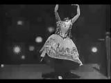 Carmencita performs a solo Spanish dance in United States, 1894.