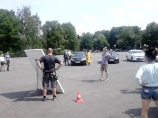 Съёмки фильма в Ярославле двойная сплошная
