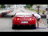 680 HP Nissan GT R Stage 2 vs 600 HP Vaz 2121 Niva