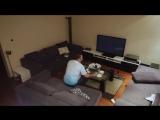 Жена жестко разыграла мужа, который захотел досмотреть матч [720p]