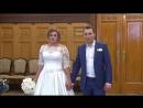Свадебная церемония Александра и Алины в Грибоедовском ЗАГСе