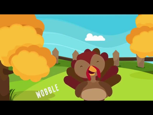 Turkey is a Silly Bird | Thanksgiving Songs for Kids | The Kiboomers