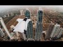 А ведь это все реально!  Roberta Mancino Wingsuits Through Panama City Skyline
