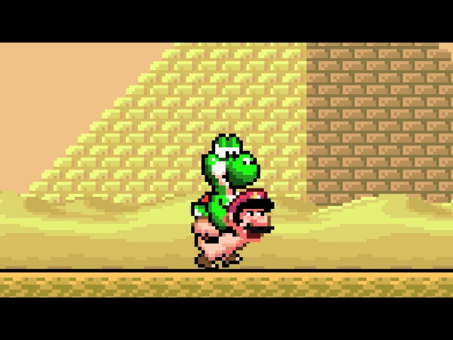 If Mario and Yoshi Switched Places