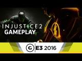 8 минут геймплея Injustice 2 Fighting