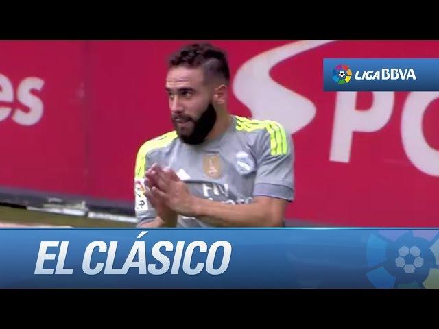 El Clásico ● Carvajal vs Dani Alves ● Los dueños de la banda derecha