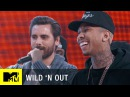 Wild 'N Out Tyga Scott Disick Cant Escape the Kardashian Cracks Wildstyle