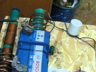 Украина Качер рабочий   съем энергии с эфира  2, 5 киловатта