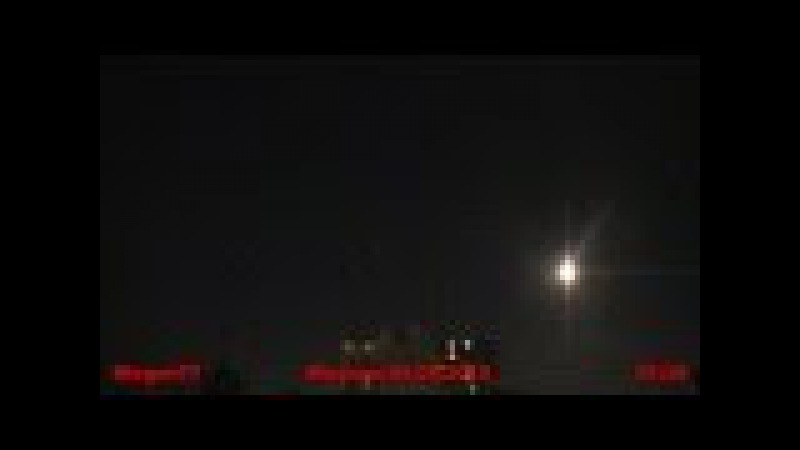 Mysterious light in the sky over Moscow like a UFO June 29,2010