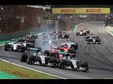 Формула 1. Гран-При Бразилии 2015.  Старт Гонки.