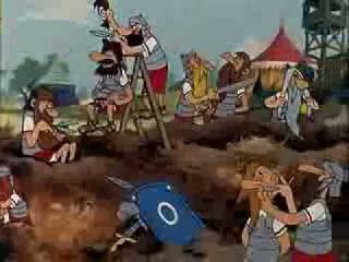 Asterix der Gallier (Dialekt Sächsisch; ganzer Film)