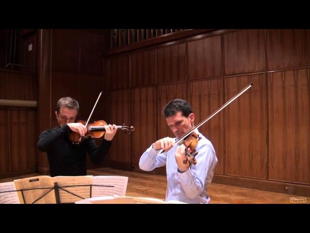 YSAYE - 2 violins sonata, part 3, Tedi Papavrami, Svetlin Roussev