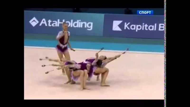 Азербайджан Художественная гимнастика, ЧЕ 2014 Azerbaijan Rhytmic gymnastics, EC 2014