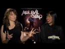 Lucy Lawless Jill Marie Jones Talk Ash Vs Evil Dead