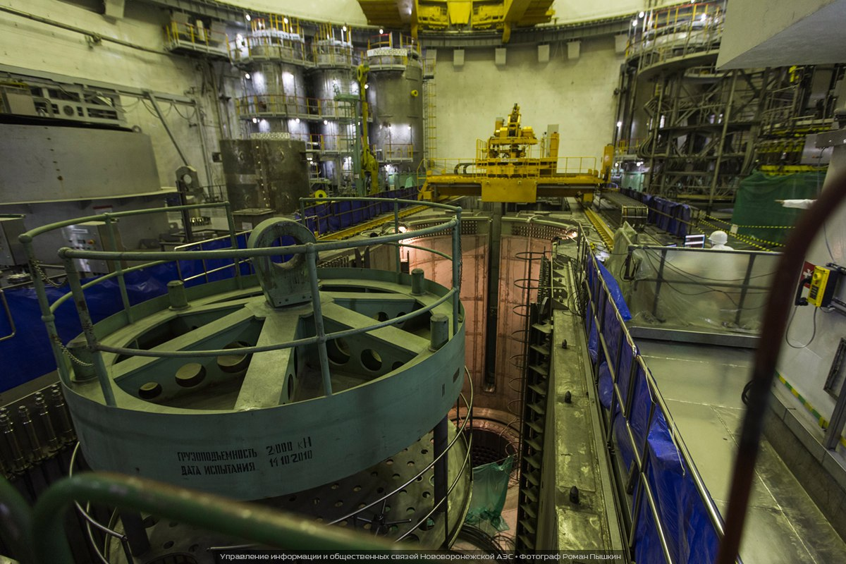 На НВ АЭС начался физпуск инновационного энергоблока