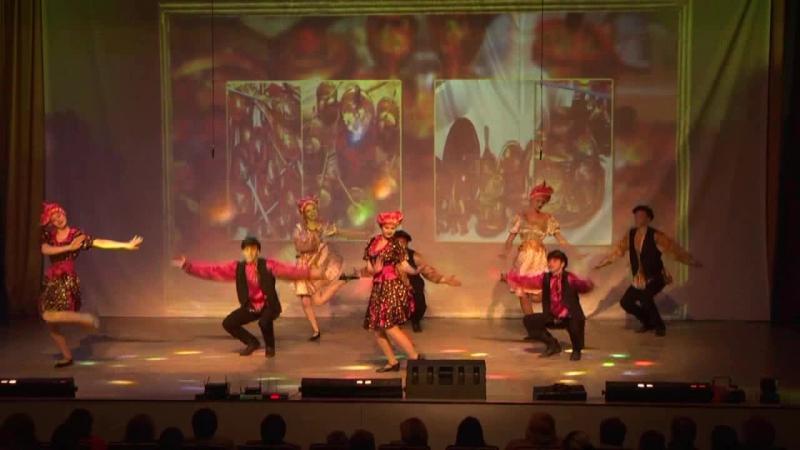 «Крендедюлина» - обр. танц. кол-в «Форсаж», рук. К. Логунова.