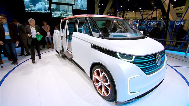 Volkswagen раскрыл секреты электрокара Budd-e