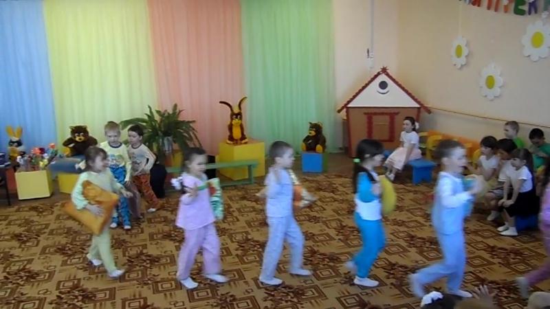 Танец Тихий час в детском саду Любашкина группа Оршанский детский сад Колокольчик Марий Эл