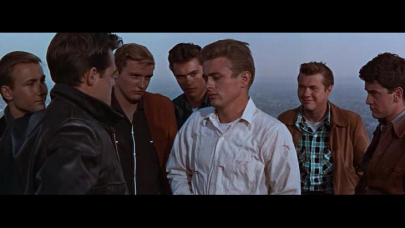 Бунтарь без идеала. US.1955(Джеймс Дин, Натали Вуд, Деннис Хоппер-3 номинации на Оскар 1956-мелодрама)