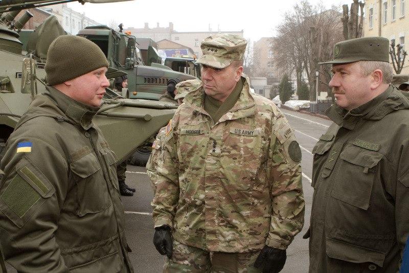 Командуючий армією США у Європі генерал Бен Ходжес в Україні