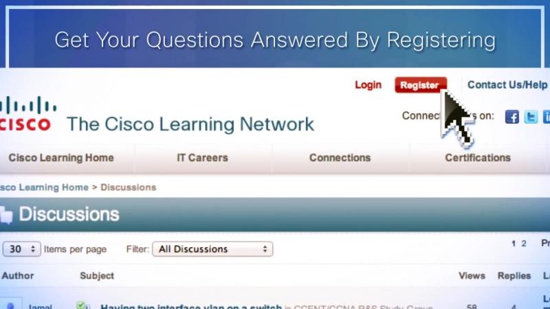 Изучение для вашего следующего Cisco сертификационных экзаменов CCENT, CCNA, CCNP или CCIE