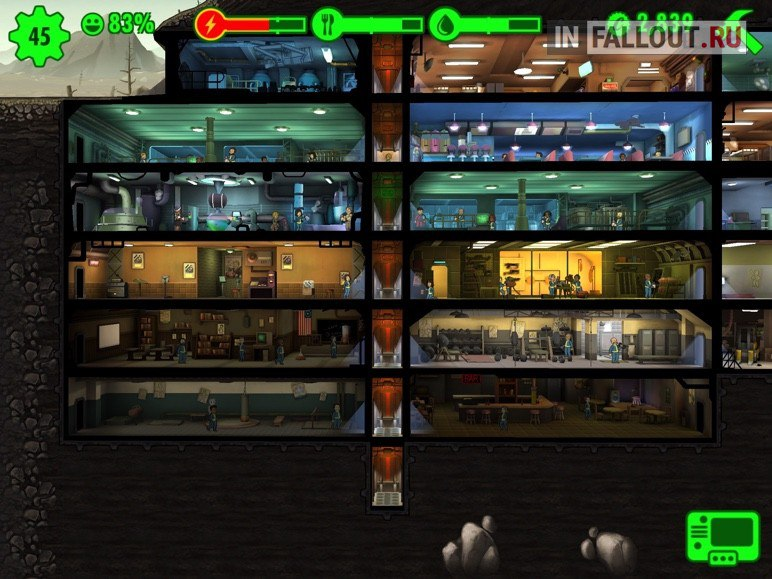 Fallout Shelter [v 1.8] (2016) PC - Скриншот 3