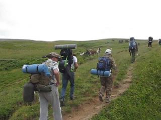 Поход в горы Лаго-Наки летом 2014г.