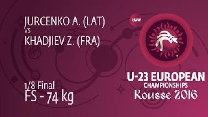 1 8 FS 74 kg A JURCENKO LAT df Z KHADJIEV FRA by TF 14 1