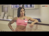 Александра Хоменкова: тренировка верха