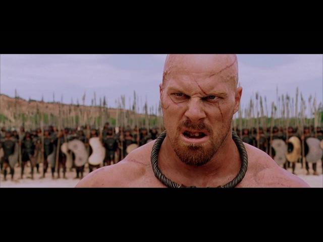 Фрагмент из фильма ТРОЯ - Представь себе, если бы цари бились сами. Вот было бы зрелище!