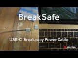 BreakSafe™ USB-C Power Cable by Griffin Technology