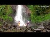 Прогулка по водопадам! Команда форсаж на острове Бали.