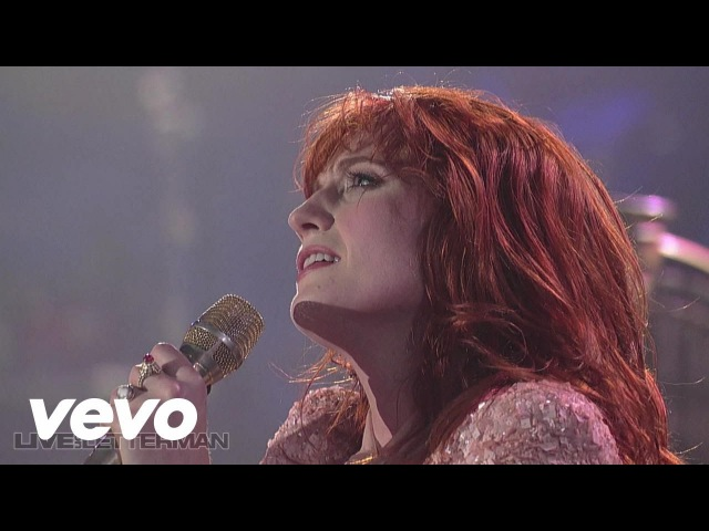 Florence The Machine - Dog Days Are Over (Live on Letterman)