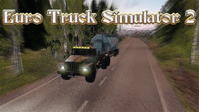 Суровая Россия Р10 - Ю.Сахалинск-Хабаровск ч.2 (Euro Truck Simulator 2)