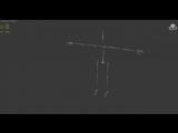 Тестовая анимация для модели