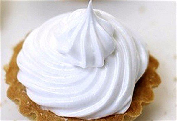 Белковый крем для украшение тортов в домашних условиях фото