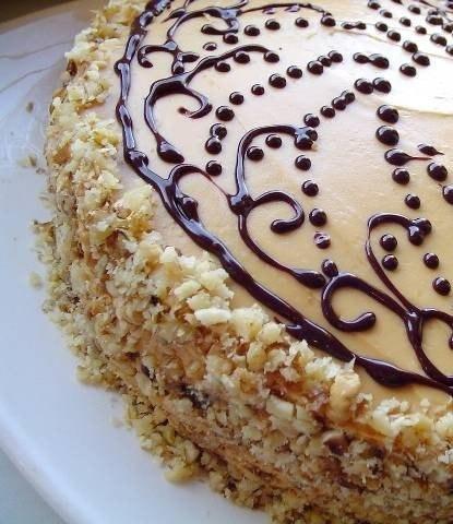 торт со сливочным маслом рецепт с фото