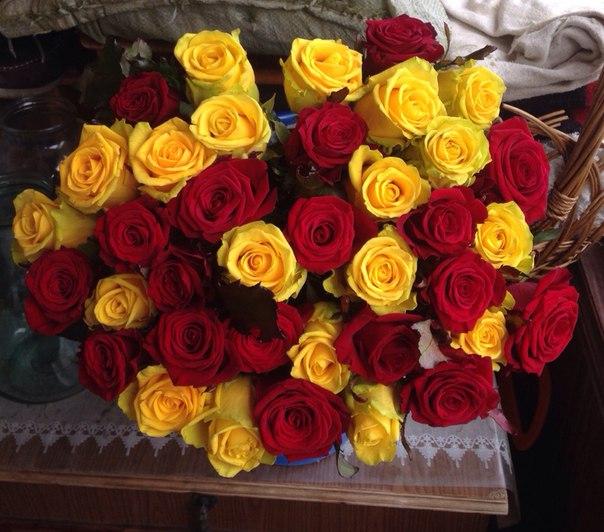 Подари мне букет цветов