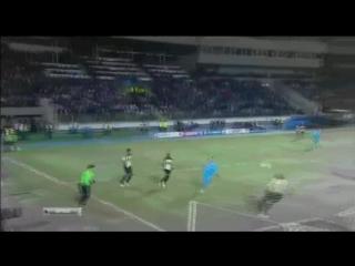 Сергей Семак, гол пяткой в ворота Бенфики | Зенит - Бенфика | #MyFootballVine