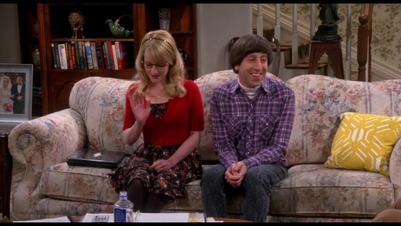 Your apology accepted short verion, funny Bernadette sheldon howard [The Big Bang Theory, season 9] отрывок тбв tbbt
