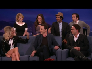 Conan Show 24 02 2016 The Cast Of The Big Bang Theory