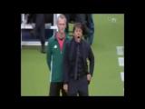 Антонио Конте и его эмоции :) (Италия - Испания) ЕВРО-2016