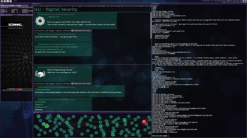 Hacknet [4.049] (2015) PC - Скриншот 2